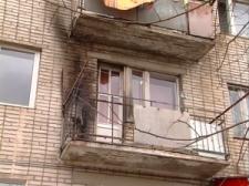 В Кременчуге загорелся балкон квартиры