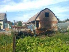 В Кременчугском районе женщина чуть себя на сожгла