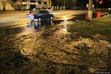 В нагорной части Кременчуга прорвало водопровод