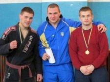 Назар Глинский выиграл чемпионат Полтавщины по джиу-джитсу