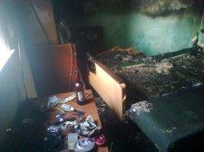 Неподалеку от Кременчуга 19-летняя девушка устроила пожар
