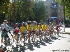Кременчугские спортсмены приняли участие в велогонке на День Знаменки