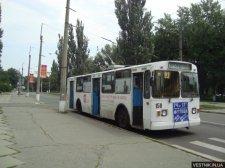 ДТП с троллейбусом в Кременчуге: движение было парализовано на час