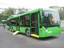 Для инвалидов в Кременчуге курсируют только 2 троллейбуса