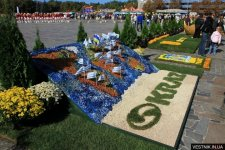 На День города в Кременчуге проведут фестиваль цветов