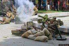 В День города на берегу Днепра кременчужанам покажут войну