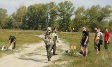 Молодежь соревновалась за переходный Кубок Крюковского районного совета по гражданской обороне и прикладной физической подготовке
