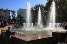 Сегодня вечером в Кременчуге в сквере «Октябрьский» откроется фонтан