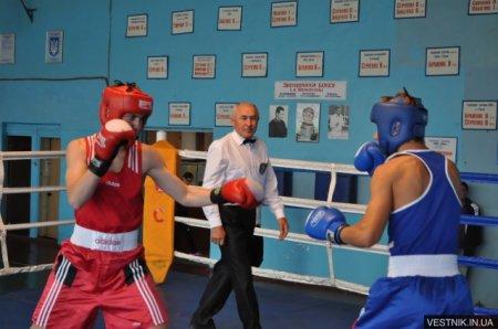 Открытый чемпионат Кременчуга по боксу