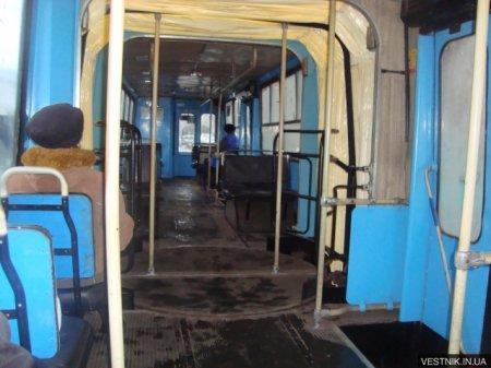 В Кременчуге возьмутся за салоны троллейбусов