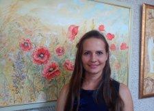 В Кременчуге открылась выставка Оксаны Бойко