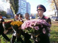 Кременчугские кадеты встали на защиту начальника лицея