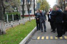 Заборы вдоль городских дорог будут с изображением логотипа города Кременчуга