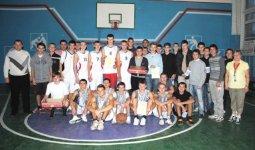 Состоялось первенство Крюковского района по баскетболу