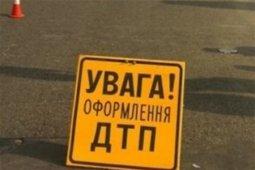 На трассе «Кременчуг-Полтава» столкнулись три автомобиля