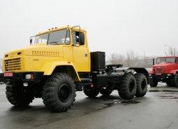 12 тягачей КрАЗ-6446 отправили на нефтяные разработки Крайнего Севера