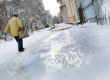 За три последних дня в Кременчуге травмировались более 30 человек