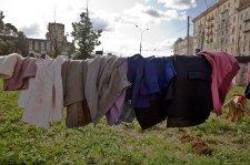 В территориальных центрах социального обслуживания собирают теплые вещи для граждан без определенного места жительства