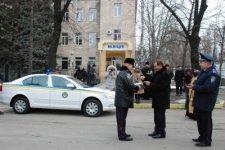 В день профессионального праздника автопарк Кременчугского городского подразделения ГАИ пополнился новым автомобиль «Skoda Octavia»
