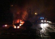 В Кременчуге 20 декабря горели три автомобиля