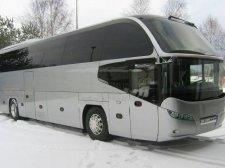 В Кременчуге «замёрз» автобус «Прага-Днепропетровск» с 9 пассажирами