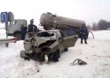 Под Полтавой столкнулись «КамАЗ» и Daewoo Lanos: 1 человек погиб