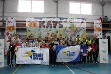 В Крюковском районе состоялся спортивный праздник «Зимние каникулы - 2013»