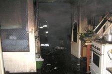 В Кременчуге на месте пожара обнаружено тело мужчины