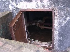 В Кременчуге во время пожара в подвале МЧСники спасли бездомного
