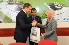 В Кременчуг приехала новый посол Индонезии