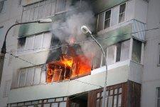 Кременчугские мчс-ники спасли при пожаре пенсионерку