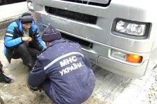 В Лохвицком районе спасатели извлекли 34 автомобиля из снежных заносов