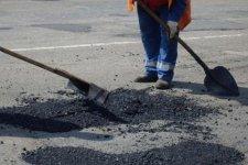Дорожное ремонтно-строительное управление продолжает ямочный ремонт дорог