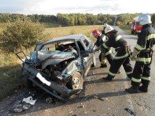 В Миргородском районе в результате ДТП погибли 2 человека