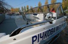Речной милиции приобретели современный катер за средства городского бюджета