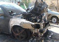 В Кременчуге снова сгорел автомобиль