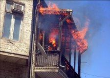 В Кременчуге из-за окурка едва не сгорела квартира
