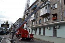 Над Автозаводским районным судом горела квартира