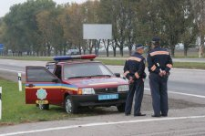 На этой неделе в Кременчуге станет больше гаишников на дорогах