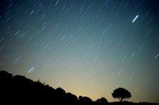 Сегодня можно полюбоваться «радужным» метеоритным дождем