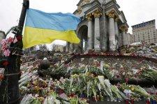 Україна вчора урочисто вшанувала загиблих торік Героїв Небесної Сотні