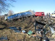 Жахлива автодорожня трагедія на Полтавщині. Небезпека міжміських маршруток