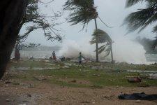 Разрушительный циклон «Пам»