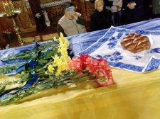 Траурна панахида на честь загиблого кременчужанина Антона Кирилова пройшла у Свято-Миколаївському соборі