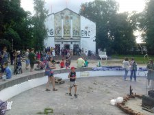Новий фасад кінотеатру «Дніпро» та памп-трек для велосипедистів – плюси і мінуси культурного життя Кременчука