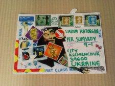 Міжнародна виставка мейл-арту пройшла у Кременчуці!