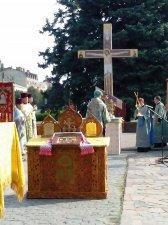 Молебень пам'яті згиблих в Іловайську пройшов сьогодні у Кременчуці